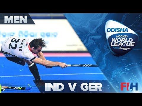 India v Germany Bronze Highlights - Odisha Men's Hockey World League Final - Bhubaneswar, India