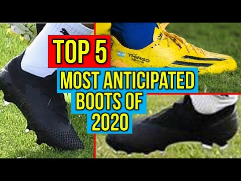 TOP 5 MOST ANTICIPATED FOOTBALL BOOTS OF 2020
