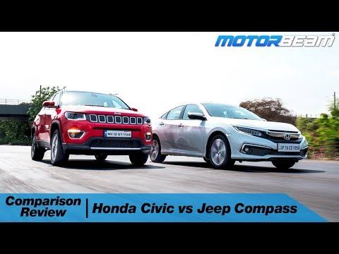 Honda Civic vs Jeep Compass - Rs. 25 Lakh Decision! | MotorBeam
