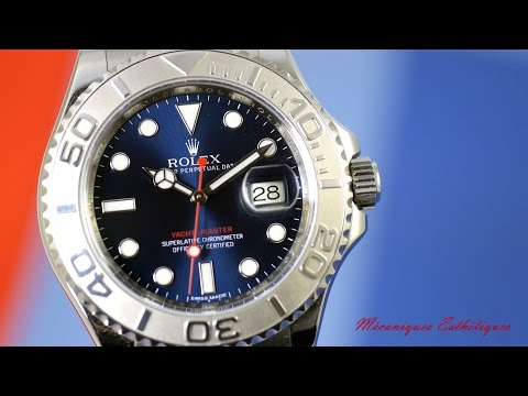 Rolex Yacht-Master 116622 (2013) Wonderful blue dial !