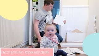 PIZZA HUT LUNCH   BUILD WITH ME