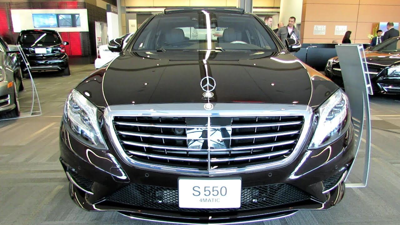 2014 mercedes benz s class s550 4matic exterior and for Mercedes benz s550 4matic 2014