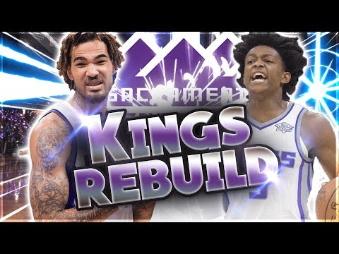 PLAYOFFS? NBA 2k18 Sacramento Kings Rebuild! #4