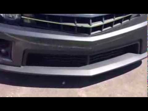Camaro Zl1 Front Bumper Conversion For Ss Pre Painted Youtube