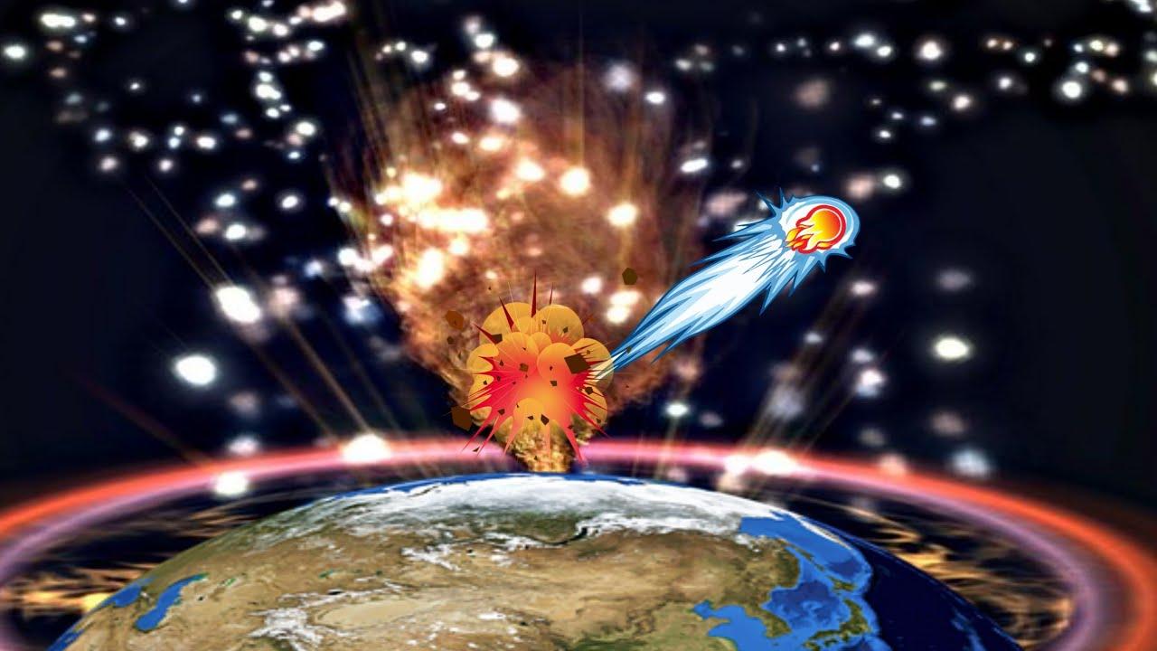ปริศนาอุกกาบาตยักษ์พุ่งเข้าหาโลกก่อนเกิดคลื่นกระแทกก่อนถึงผิวโลกปลิวกลับสู่อวกาศ