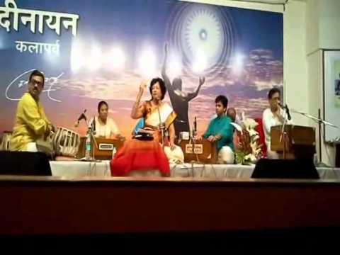 Padmashri Padmaja Phenany Joglekar with her GURU Padmashri Ptnath Mangeshkar