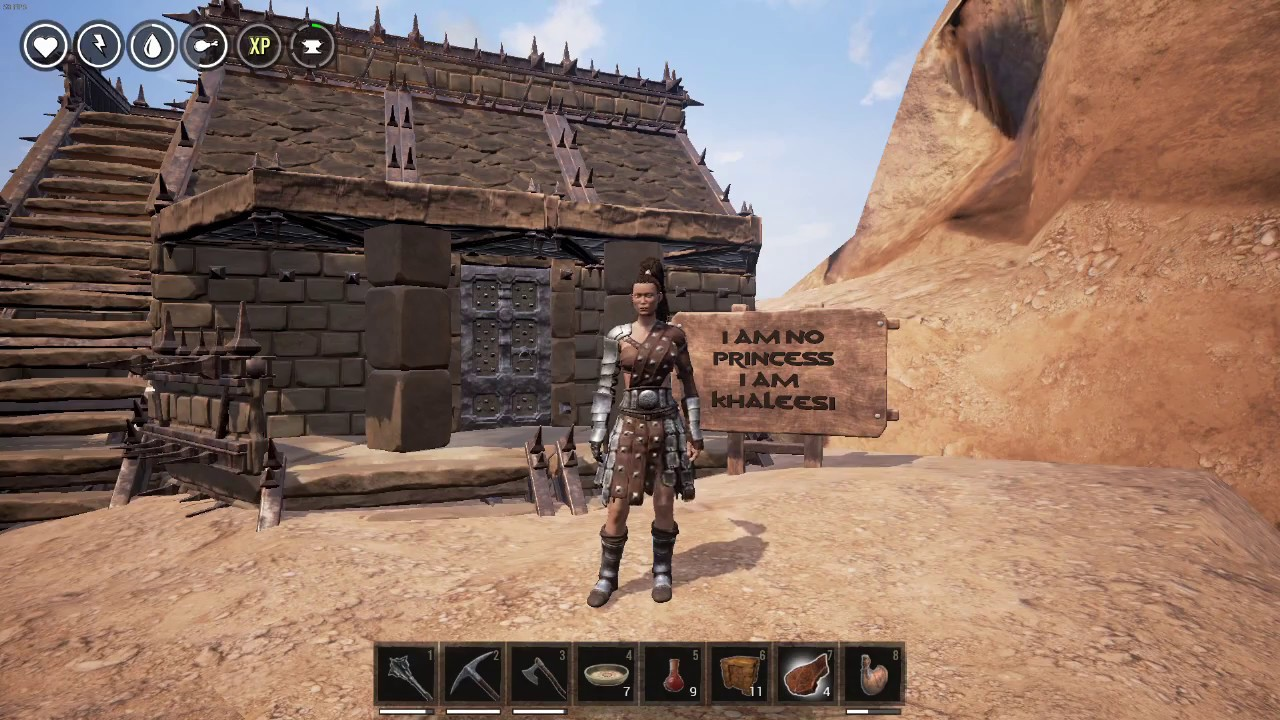 conan exiles how to make an elevator