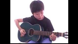 小学校4年生になった頃の演奏で、曲目はアンジーです。ポール・サイモ...