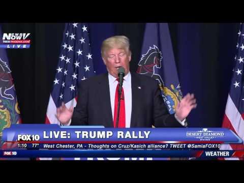 FNN: FULL Donald Trump in West Chester, Pennsylvania 4-25-16