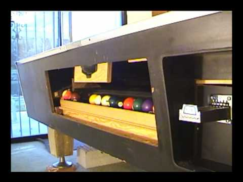Pool Table Restoration Now With A Coin Mech YouTube - Valley pool table coin mechanism