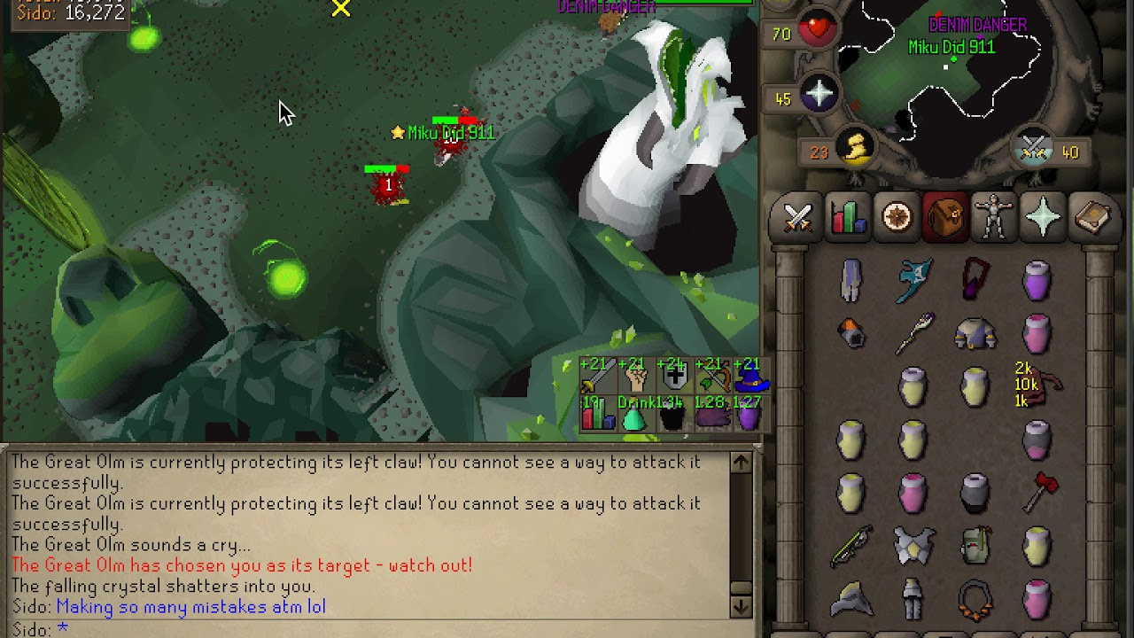 Casual Trio Olm Osrs Youtube