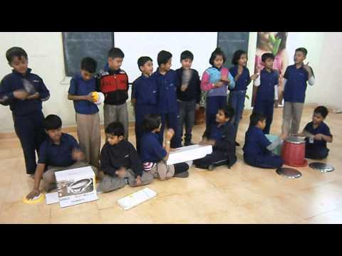 Indus World School indore Grade IV class orchestra