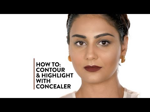 How to: Contour and Highlight with Concealer | MyGlamm