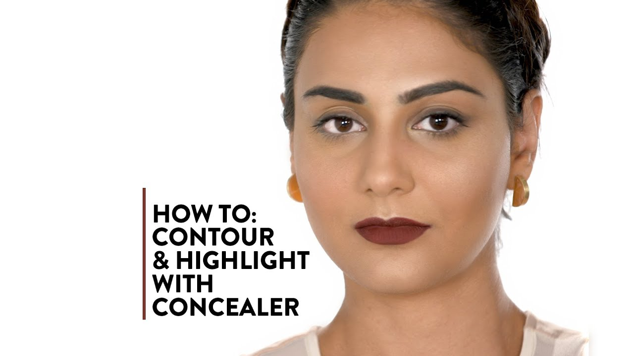 How to Contour and Highlight with Concealer | MyGlamm