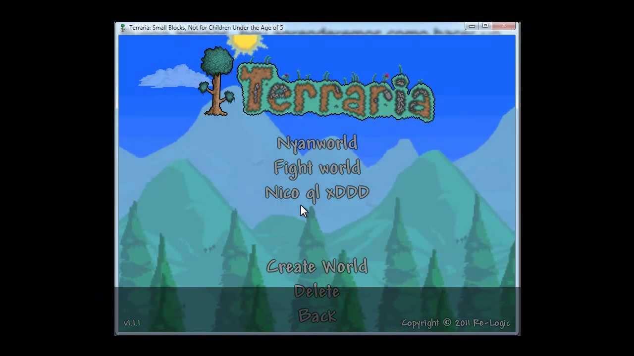 how to create a terraria server
