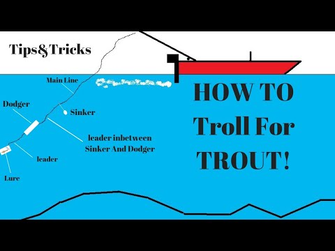 HOW TO Troll For Trout   How To CATCH Trout And SILVER SALMON    Rigging Tips & Tricks