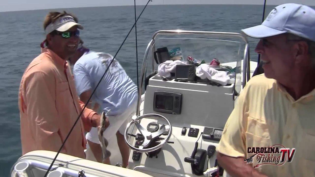Carolina fishing tv season 3 7 ocean flounder fun for Carolina fishing tv