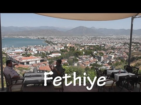 TURKEY: Fethiye city & market [HD]
