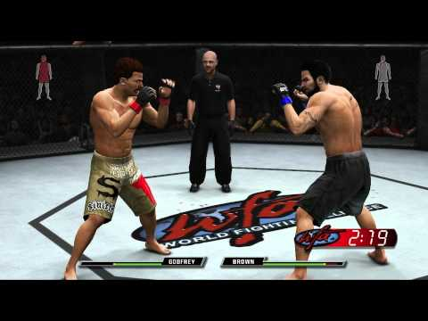 UFC Undisputed 3 Прохождение карьеры Начало PS3