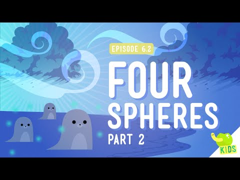 Four Spheres Part 2 (Hydro and Atmo): Crash Course Kids #6.2