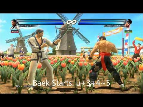 Tekken Tag Tournament 2 GREAT! Combos W/ Notations!