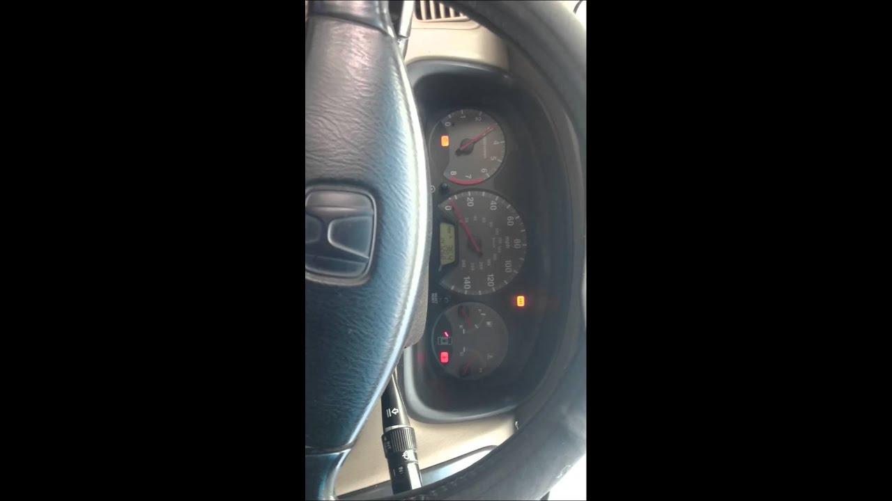 Honda In Limp Mode
