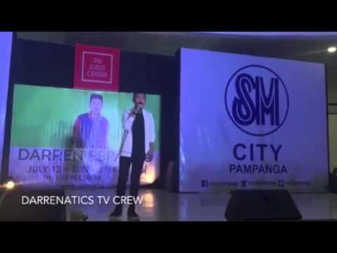 DARREN ESPANTO LIVE IN SM CITY PAMPANGA - FULL VIDEO PERFORMANCE (July 12,2015