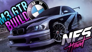 NEED FOR SPEED HEAT | BMW M3 GTR/ E46 M3 BUILD! [ALL CUSTOMIZATION, ENGINE SWAP, GAMEPLAY ] [1440P]!
