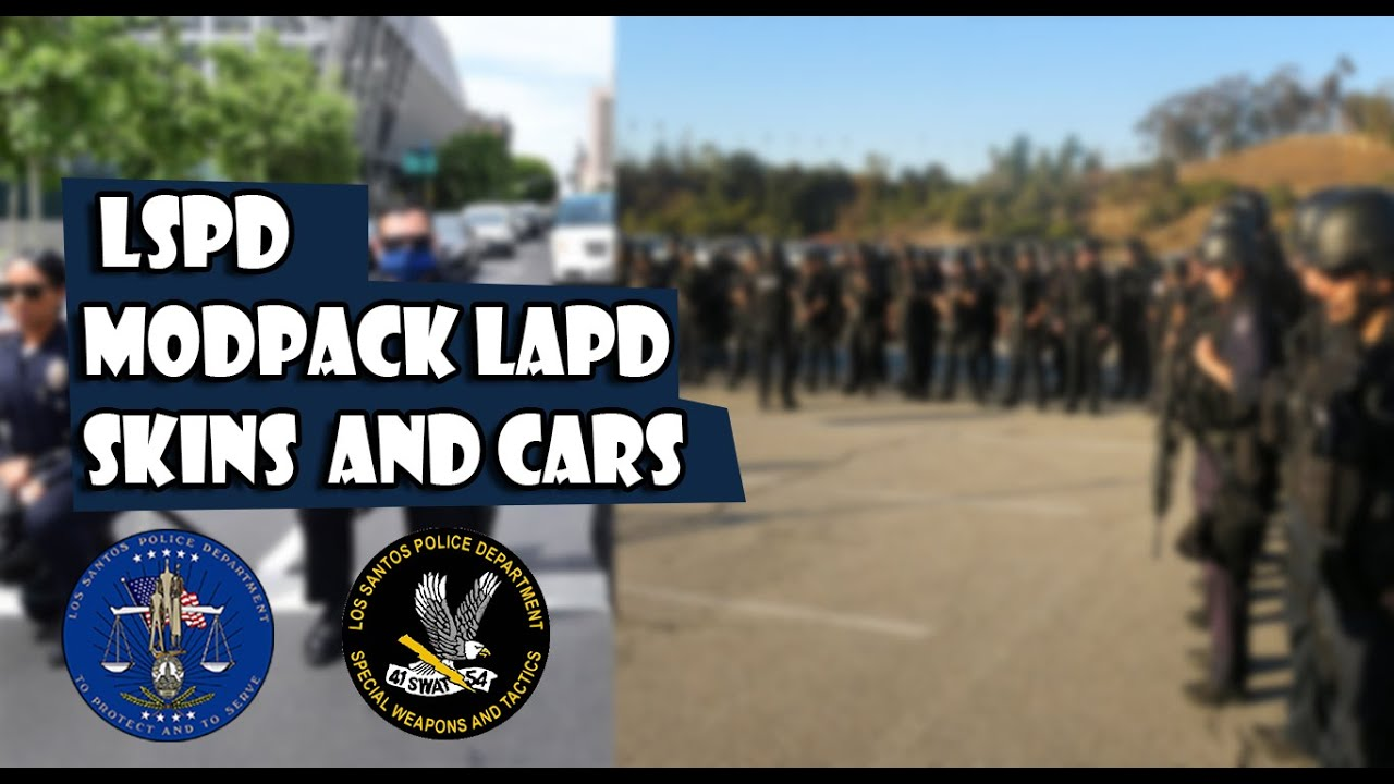 Download GTA:SA - [REL] MODPACK LSPD SAMP V2   IVF   PATROL UNIT AND SWAT   LAPD BASED