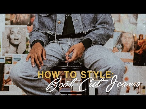 How to Style: Boot Cut Jeans! | Spring Lookbook | Men's Fashion | Happily Dressed