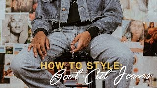 How to Style: Boot Cut Jeans!   Spring Lookbook   Men's Fashion   Happily Dressed
