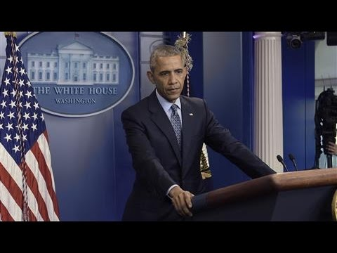 Obama: Russia and U.S. in an 'Adversarial Relationship'