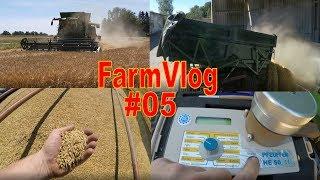 FarmVlog #05 Erntestart | Wintergerste dreschen
