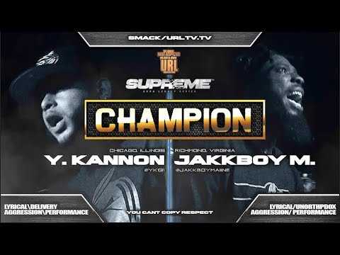 CHAMPION | YOUNG KANNON VS JAKKBOY MAINE - SMACK/URL