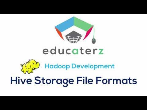 Hadoop Tutorial for Beginners - 32 Hive Storage File Formats: Sequence, RC, ORC, Avro, Parquet