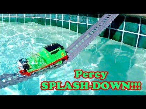 Thomas the Train | Percy & Thomas SPLASH-DOWN!!! Thomas and Friends Percy Thomas the tank engine