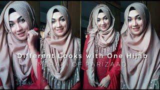 Pari ZaaD Presents Different Hijab Looks with Meraki of Pari ZaaD