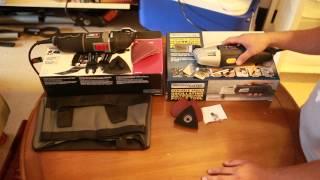 Porter Cable Oscillating Tool PCE606k Vs Harbor Fr