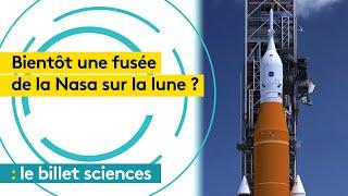 Espace : la Nasa veut envoyer une fusée sur la Lune