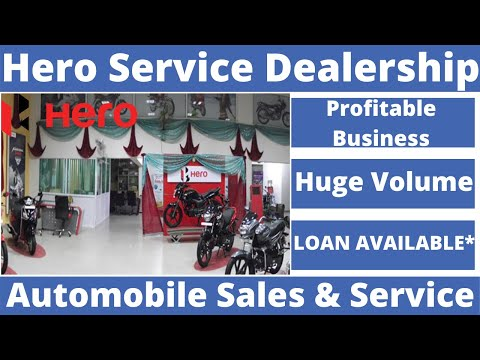 Hero Service Dealership Business, 3 Lakhs Income