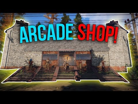 Running The Most PROFITABLE Shop EVER! - Rust [ARCADE] Shop