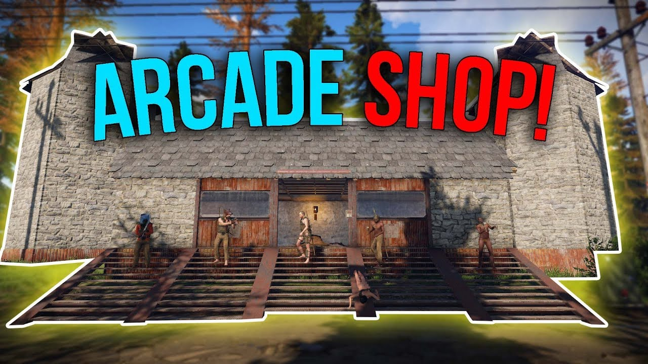 Running The Most PROFITABLE Shop EVER! - Rust [ARCADE] Shop