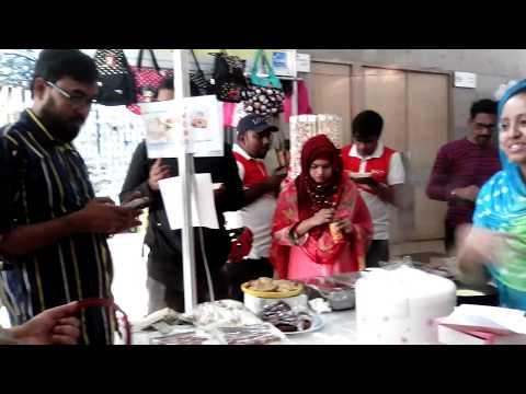 our pithar stall at Asian trade fair