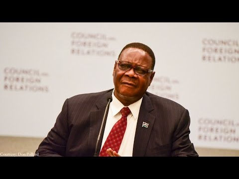 A Conversation With Peter Mutharika