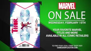 Marvel NOW! Titles for February 15th