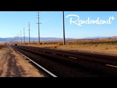 Weird Musical Road - Mojave Desert Secret - Randomland