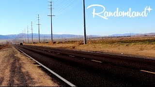 Weird Musical Road - Mojave Desert Secret - Randomland