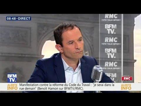"""Emmanuel Macron, """"un Président immature"""", selon Benoît Hamon"""