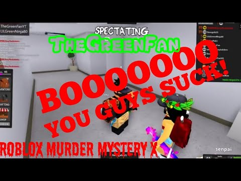 STUPID ONLINE DATERS In Roblox Murder Mystery X with Rainbow