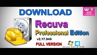 Recuva Professional CRACK Data Recovery Software